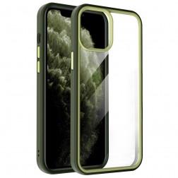 """X-Level"" Colorful apvalks - dzidrs, dzeltens (iPhone 13 Pro Max)"