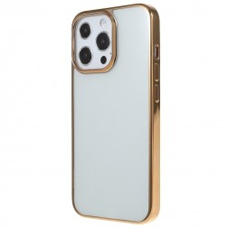 """X-Level"" Glitter apvalks - dzidrs, zelta (iPhone 13 Pro Max)"