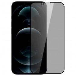 """""""Nillkin"""" Tempered Glass melns ekrāna aizsargstikls 0.26 mm - privāta (iPhone 13 / 13 Pro)"""