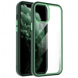 """X-Level"" Colorful apvalks - dzidrs, zaļš (iPhone 13 Pro)"