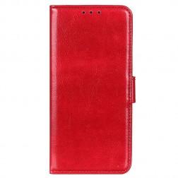 Atvēramais maciņš, grāmata - sarkans (iPhone 13)