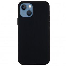 """Shell"" cieta silikona (TPU) apvalks - melns (iPhone 13)"