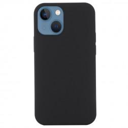"""""""Shell"""" MagSafe cieta silikona (TPU) apvalks - melns (iPhone 13 Mini)"""