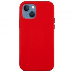 """Shell"" cieta silikona (TPU) apvalks - sarkans (iPhone 13)"