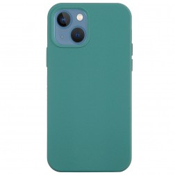 """""""Shell"""" cieta silikona (TPU) apvalks - tumši zaļš (iPhone 13)"""