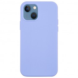 """Shell"" cieta silikona (TPU) apvalks - violeta (iPhone 13)"