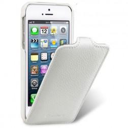 """""""Melkco"""" klasisks vertikāli atvēramais maciņš - balts (iPhone 4 / 4S)"""