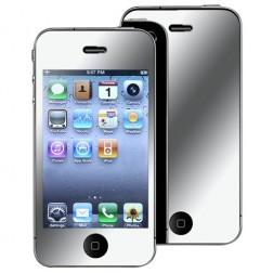 """""""ISME"""" ekrāna aizsargplēve - spoguļa (iPhone 4 / 4S)"""