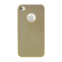 Stilīgs, metāla apvalks - zelts (iPhone 4 / 4S)