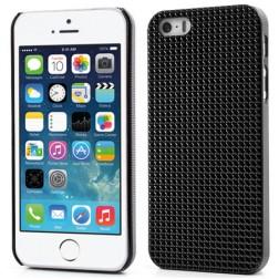 Stilīgs reljefa apvalks - melns (iPhone 5 / 5S)