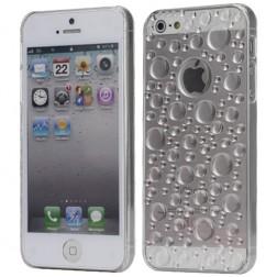 Apvalks ar ūdens pilienu imitācija - dzidrs (iPhone 5 / 5S)
