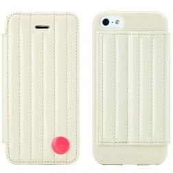 """""""8thdays"""" Jessie's Melody atvērams futrālis - smilšu (iPhone 5 / 5S)"""
