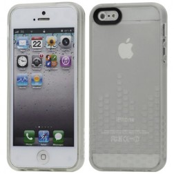 Cieta silikona futrālis - dzidrs (iPhone 5 / 5S)