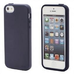 """Elago"" apvalks - zils + ekrāna aizsargplēve (iPhone 5 / 5S)"