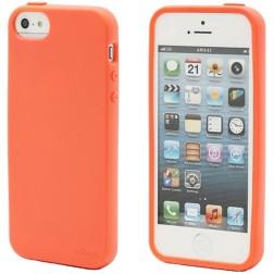 """Elago"" apvalks - oranžs + ekrāna aizsargplēve (iPhone 5 / 5S)"