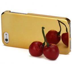 Spogulis apvalks - zelts (iPhone 5 / 5S)