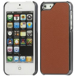 Solīds apvalks - brūns (iPhone 5 / 5S)