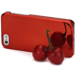 Spogulis apvalks - sarkans (iPhone 5 / 5S)
