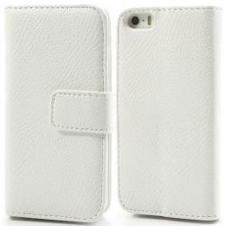 """Lychee"" atvēramais futrālis - balts (iPhone 5 / 5S)"