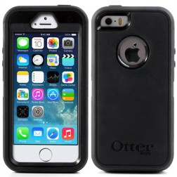"""OtterBox"" Defender apvalks - melns (iPhone 5 / 5S)"