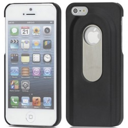 Attaisāmais, apvalks - melns (iPhone 5 / 5S)