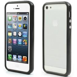Rāmis (bamperis) - melns (iPhone 5 / 5s)