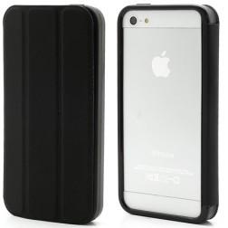 Atvēramais rāmis (bamperis) - melns (iPhone 5 / 5S)