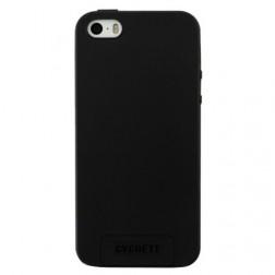 """Cygnett"" cieta silikona (TPU) apvalks - melns (iPhone 5 / 5S / SE)"
