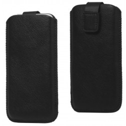 Telefona ieliktņa - melna (iPhone 5 / 5S)