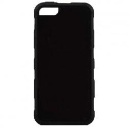 """""""Likgus"""" pastiprinātas aizsardzības apvalks - melns (iPhone 5 / 5S / SE)"""