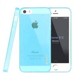 """Leiers"" TPU dzidrs futrālis - gaiši zils (iPhone 5 / 5S)"