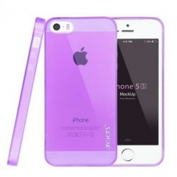 """Leiers"" TPU dzidrs futrālis - violeta (iPhone 5 / 5S)"