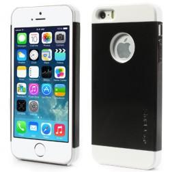 """Verus"" apvalks - melns / balts (iPhone 5 / 5S)"