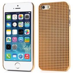 Stilīgs reljefa apvalks - zelts (iPhone 5 / 5S)