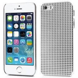 Stilīgs reljefa apvalks - balts (iPhone 5 / 5S)