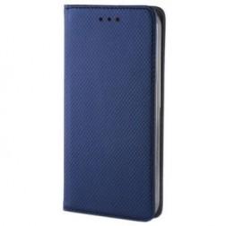 """""""Shell"""" solīds atvēramais ādas maciņš - zils (iPhone 5 / 5S / SE)"""