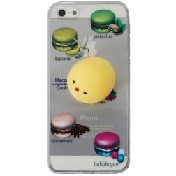 """Squezy"" Yolk cieta silikona (TPU) apvalks - dzidrs (iPhone 5 / 5s / SE)"