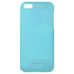 """""""Baseus"""" plastmasas futrālis - zils+ ekrāna aizsargplēve (iPhone 5C)"""