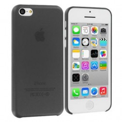 Dzidrs plastmasas apvalks - melns (iPhone 5C)