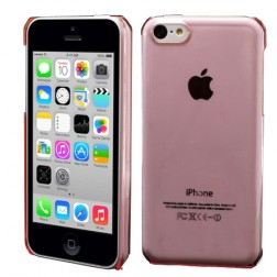 Dzidrs plastmasas apvalks - rozs (iPhone 5C)