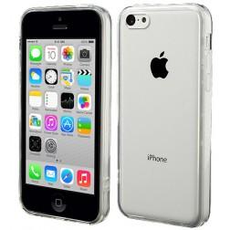 Plastmasas apvalks ar sānu apmale - dzidrs (iPhone 5C)