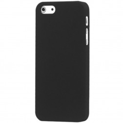 Klasisks matēts apvalks - melns (iPhone 5 / 5S / SE)