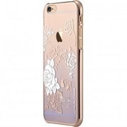 """Devia"" Charm Swarovski apvalks - violeta (iPhone 6 / 6S)"