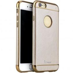 """IPAKY"" Luxury cieta silikona (TPU) apvalks - rozā zelts (iPhone 6 / 6s)"