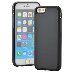 """""""Likgus"""" pastiprinātas aizsardzības apvalks - melns (iPhone 6 / 6S)"""