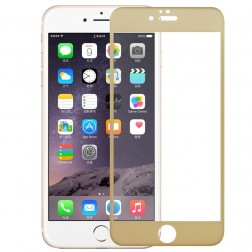 """3D Rewan"" Tempered Glass ekrāna aizsargstikls 0.26 mm - zelta (iPhone 6 / 6S)"