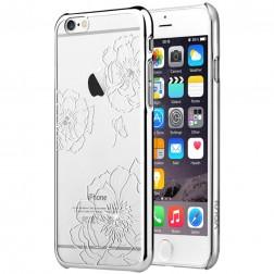 """Vouni"" Crystal Bloom apvalks - sudrabs (iPhone 6 / 6S)"
