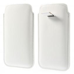 Telefona ieliktņa - balta (L izmērs)