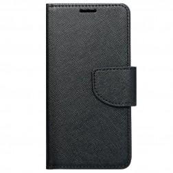 """Fancy"" atvēramais maciņš - melns (iPhone 6 / 6s)"