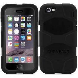 """""""Griffin"""" Survivor All-Terrain apvalks - melns (iPhone 6 / 6s)"""